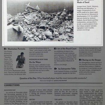 NY Times july 2008